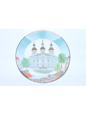 Decorative Plate pic. Saint Nicholas Naval Cathedral, Form European