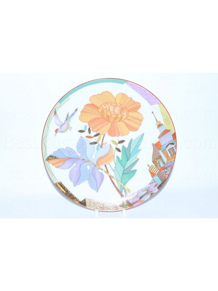 Decorative Plate pic. Sultry Summer, Form Ellipse