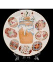 Decorative Plate pic. Easter, Form Ellipse
