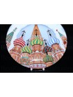Decorative Plate pic. St. Basil's Cathedral, Form European