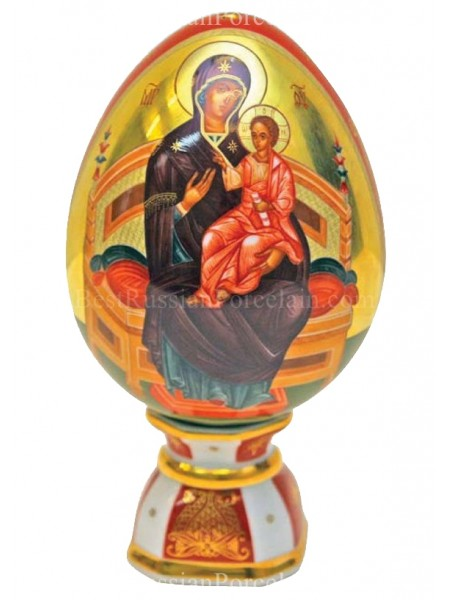 Easter Egg pic. Mother of God(Vsetsaritsa), Form Egg
