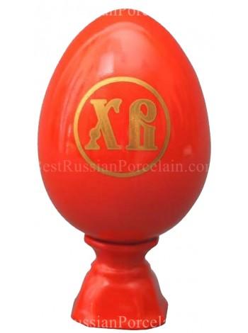 Easter Egg pic. Red, Form Egg