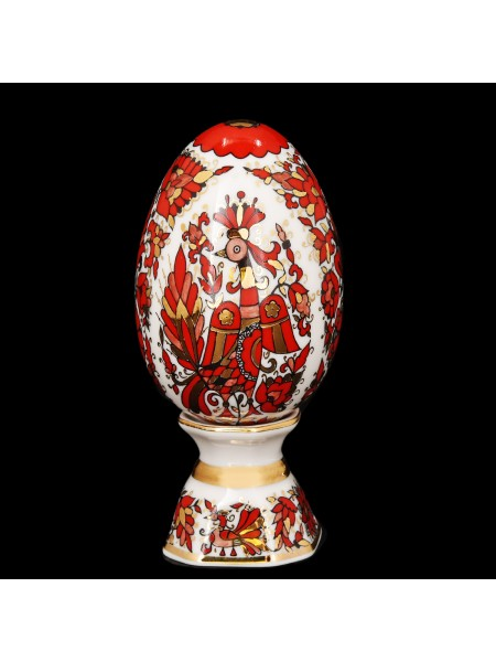 Easter Egg pic. Russian Ornament, Form Egg