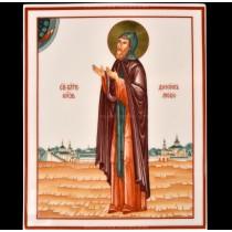 Plast pic. Saint Daniel Moscow, Form Rectangular