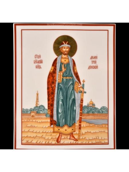 Plast pic. Saint Dmitriy Donskoy, Form Rectangular