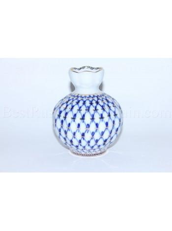 Flower Vase pic. Cobalt Net, Form Tulip