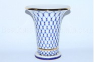 Flower Vase pic. Cobalt Net, Form Empire