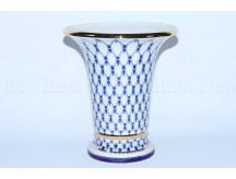 Flower Vase pic. Cobalt Net, Form Empire