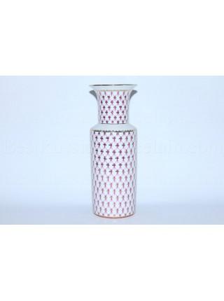 Flower vase pic. Net Blues, Form Cylindrical