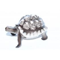 Sculpture Turtle Dark Shell