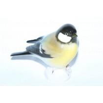 Sculpture Bird Titmouse (Black)