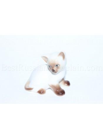 Sculpture Cat Kitten Paramosha Siamese