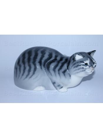 Sculpture Grey Cat