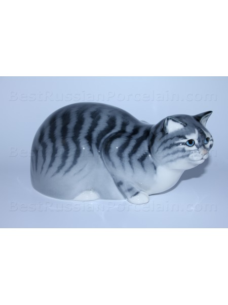 Sculpture Big Grey Cat