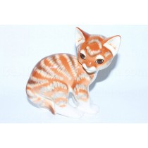 Sculpture Orange Cat