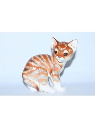 Sculpture Orange Cat