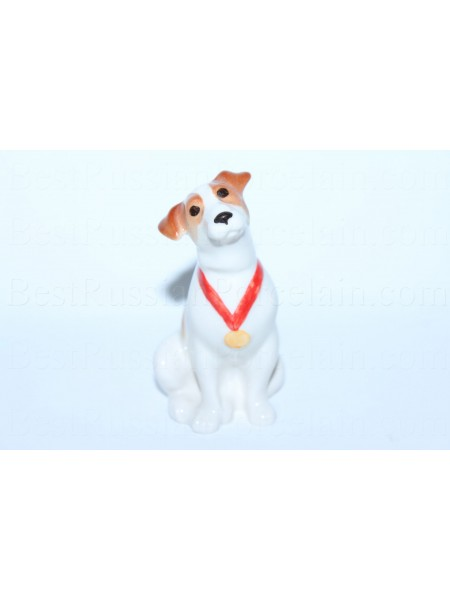Sculpture Dog Jack Russell Terrier - Leo
