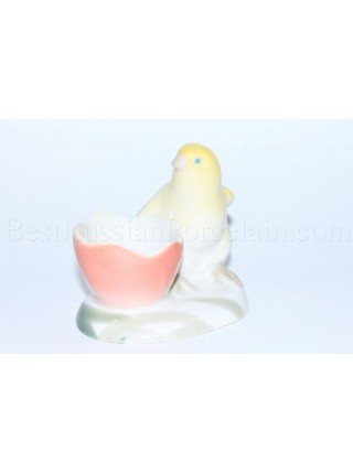 Sculpture Small Chicken, Easter, Egg Cup