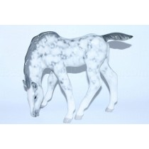 Sculpture Horse Dapple Grey