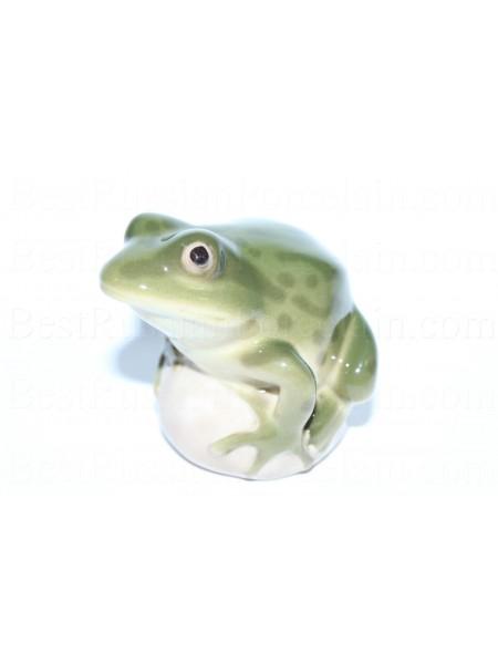 Sculpture Frog Pond (Green)