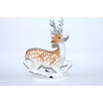 Sculpture Deer or Doe with horns