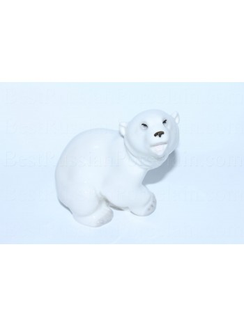 Sculpture White Bear