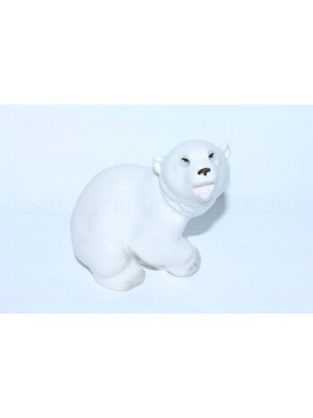 Sculpture White Bear (Polar Cub)