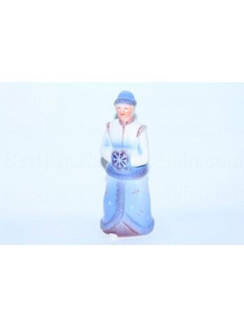 Sculpture Snow Maiden, pic. Blizzard