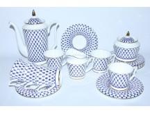 Coffee Set pic. Cobalt Net 6/15, Form Yulia