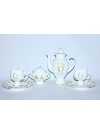 Coffee Set pic. Muse of the Summer Garden 2/8, Form Classical-2