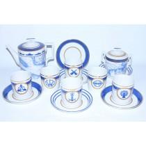 Tea Set pic. Wardroom 6/14, Form Heraldic