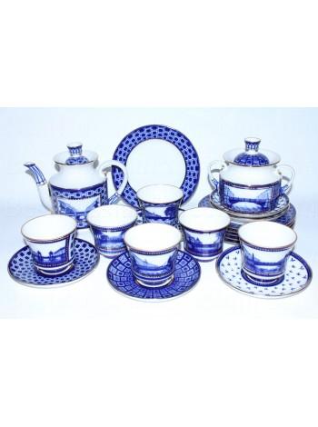 Tea Set pic. Bridges of St. Petersburg 6/20, Form Banquet