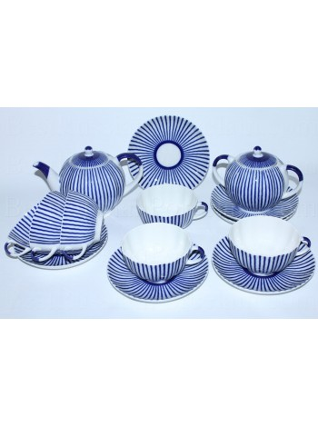 Tea Set pic. Frenchman 6/14, Form Tulip