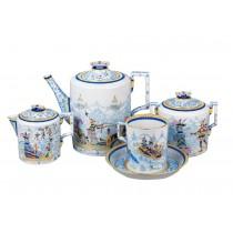 Tea Set pic. Winter Fun 4/10, Form Heraldic