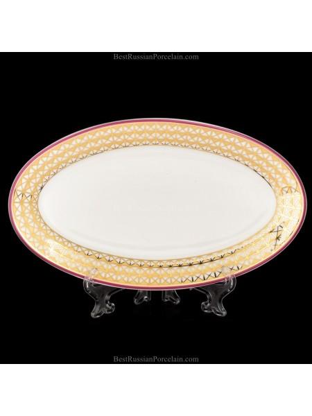 Oval dish pic. Zamoskvorechye, form Youth