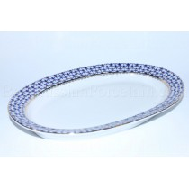 Oval Dish pic. Cobalt Net Form Youth