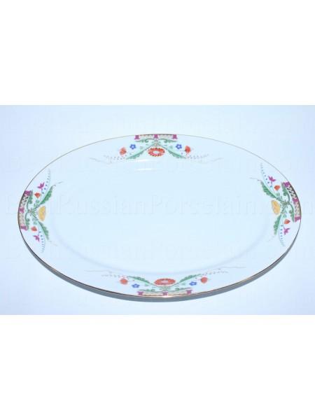Big Oval Dish pic. Zamoskvorechye, Form European