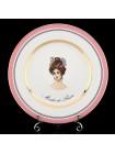 One Dessert Plate pic. Modes de Paris 4, Form European