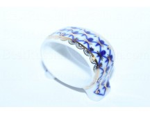 Napkin Ring pic. Cobalt Net, Form Youth