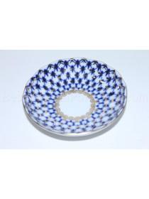 Jam Dish / Bowl pic. Cobalt Net Form Tulip