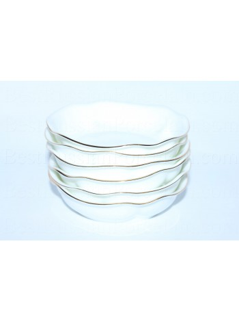Jam Dish / Bowl pic. Golden ribbon, Form Natasha