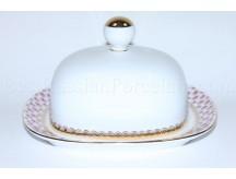 Butter Dish pic. Net Blues, Form Rectangular