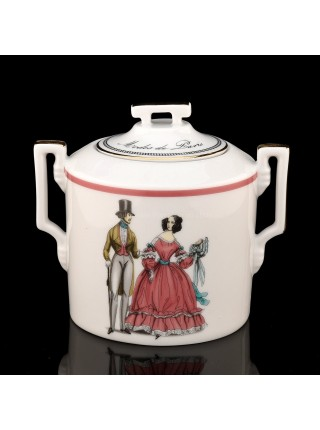 Sugar Bowl pic. Modes de Paris, Form Heraldic