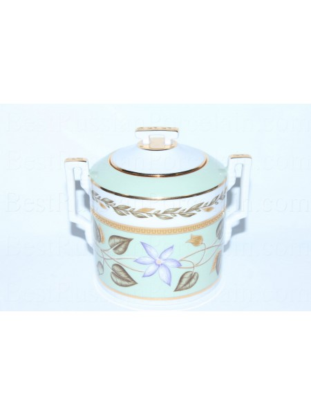 Sugar Bowl pic. Nephrite Background, Form Heraldic