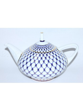 Teapot Cobalt Net Form Dome