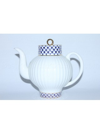 Teapot Cobalt Net, Form Wave