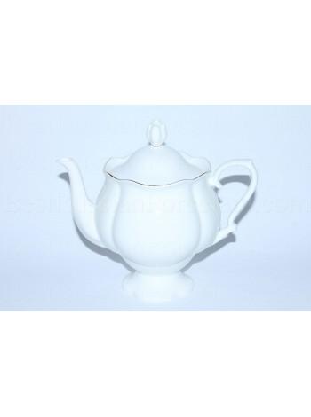 Teapot Golden Ribbon, Form Natasha