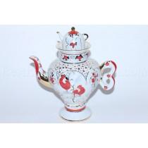 Teapot pic. Folk Patterns Form Samovarchik