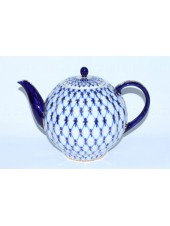 Teapot Cobalt Net (Big 67.6 fl oz) Form Tulip