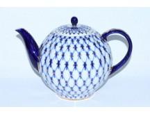 Teapot Cobalt Net (Big 67.6 fl oz) Form Tulip